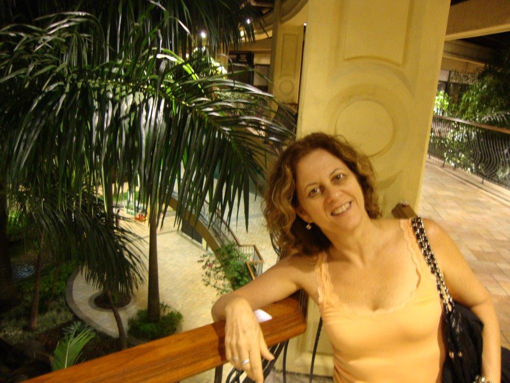 Minha tia-prima Marilice Gasparim (Foto: Arquivo Pessoal)