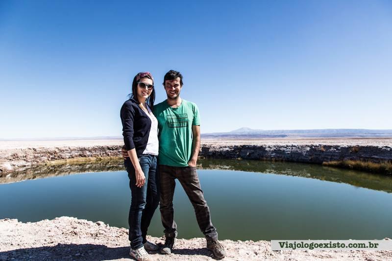 A Rachel e o Leo em Riobamba no Equador (Foto: Arquivo Pessoal)