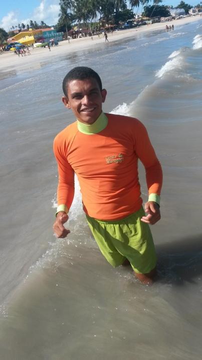 Wellikson vive há 15 anos em Maragogi