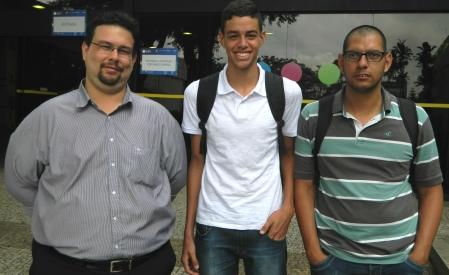 Professor Carlos foi à Campus Party com alunos