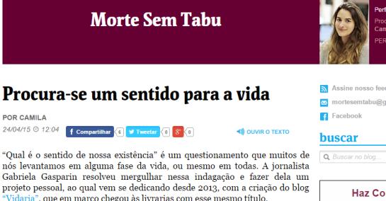 Morte Sem Tabu