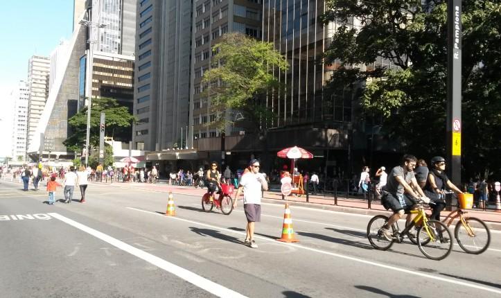 Inauguração da ciclovia na Avenida Paulista no domingo