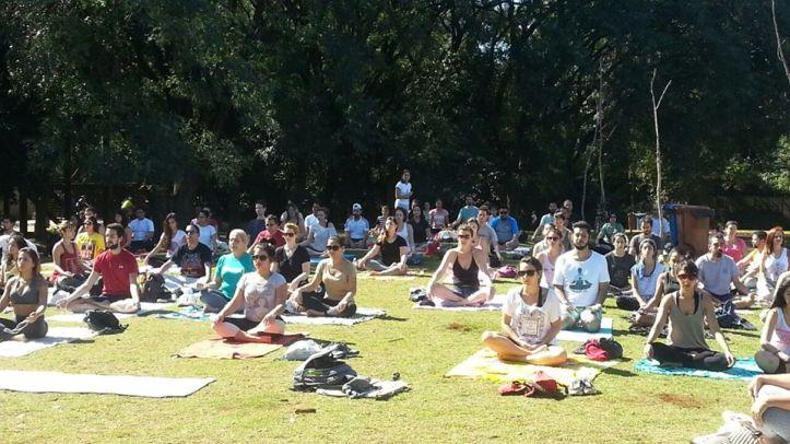 Yoga ao Ar Livre